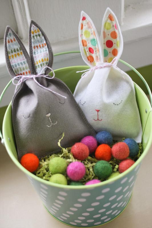 Sleepy bunny goody bags - Manualidades faciles de hacer en casa ...