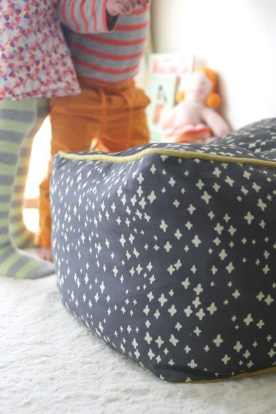 koi canvas floor cushion -- probably actually-3692